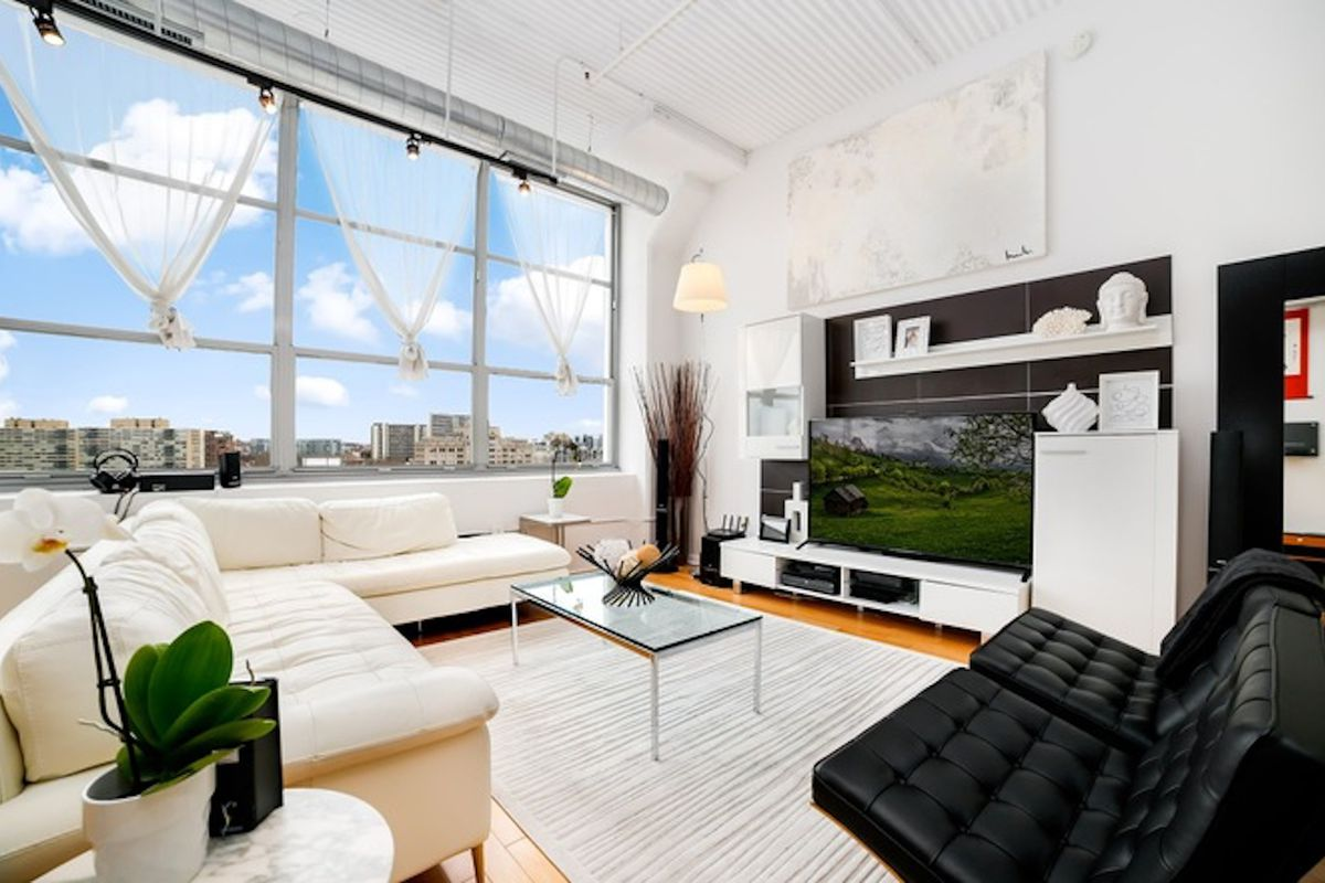 contemporary loft furniture. This Logan Square Condo Is On The Market For $518,900. Courtesy Of Charles Davies, Redfin Contemporary Loft Furniture