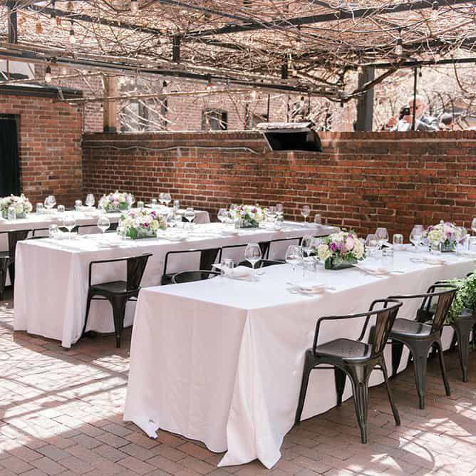 These D C Restaurants Transform Into Stylish Wedding Venues