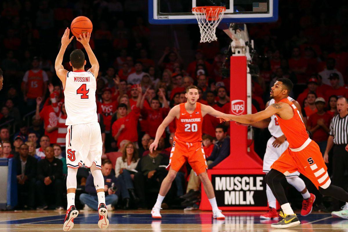 NCAA Basketball: Syracuse at St. John