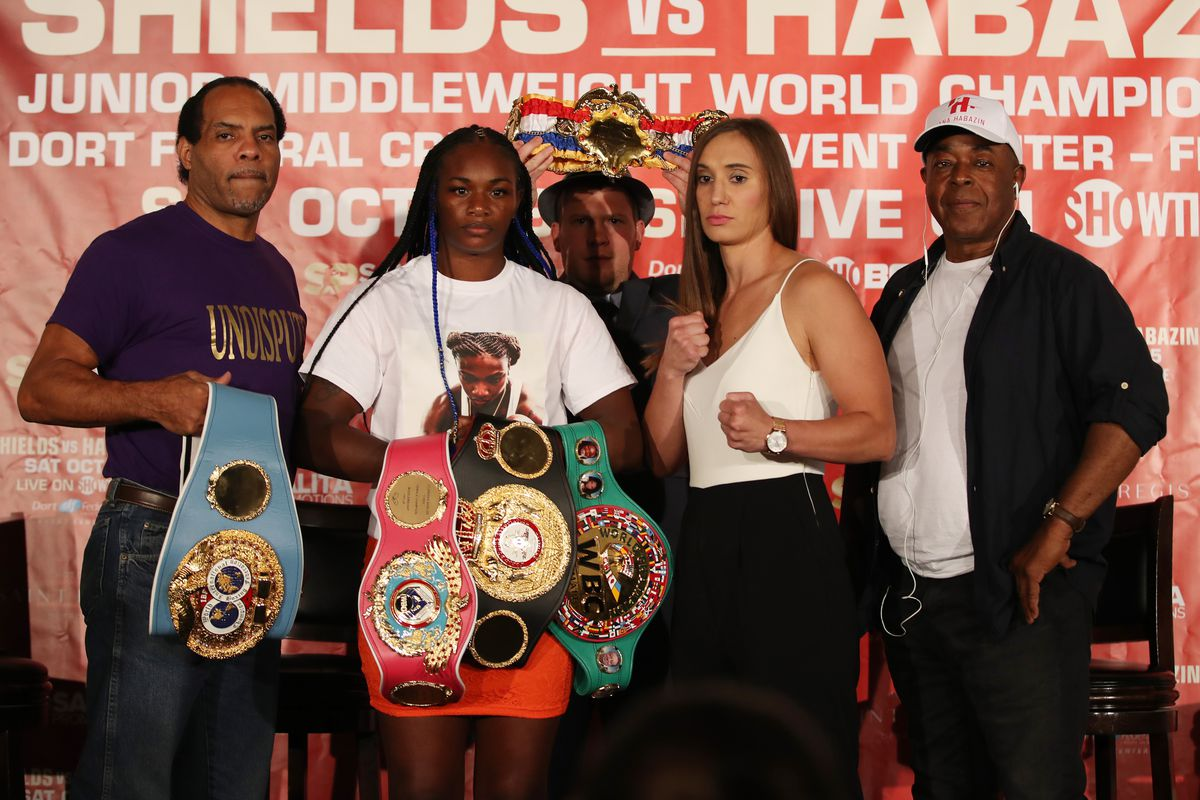 Claressa Shields-Ivana Habazin in the works (again) for January 10th in Atlantic City