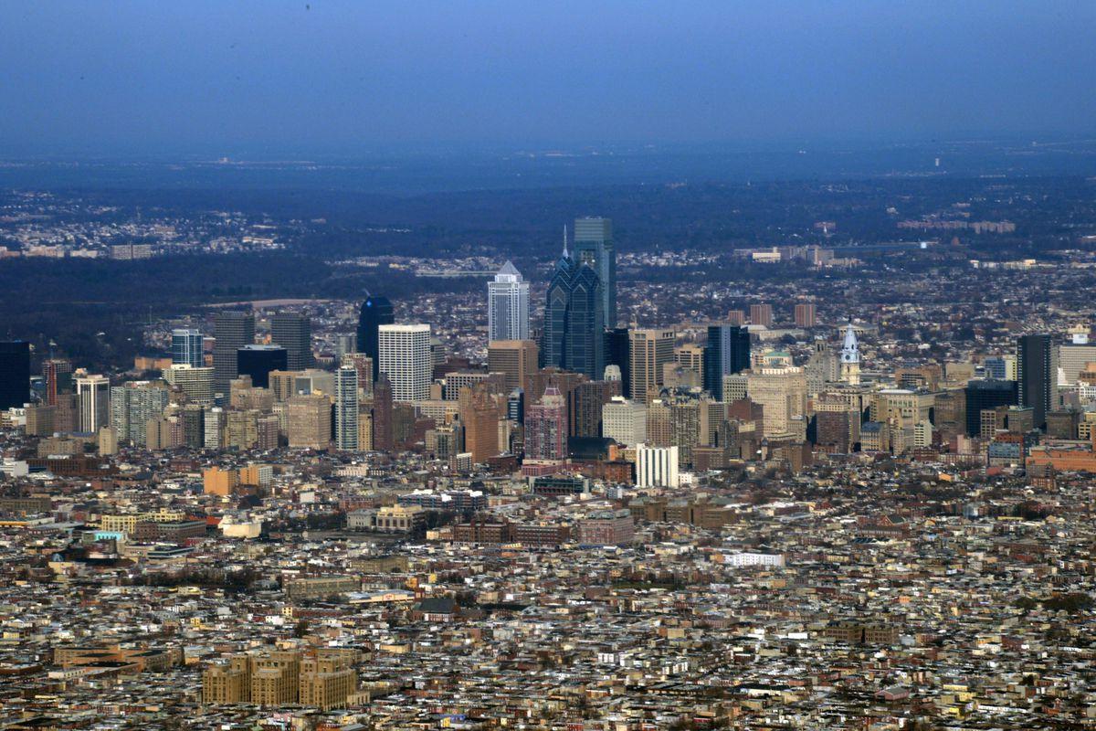 Not an old image of Philadelphia.