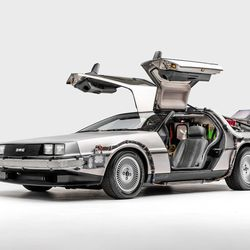 Delorean Time Machine, Back to the Future