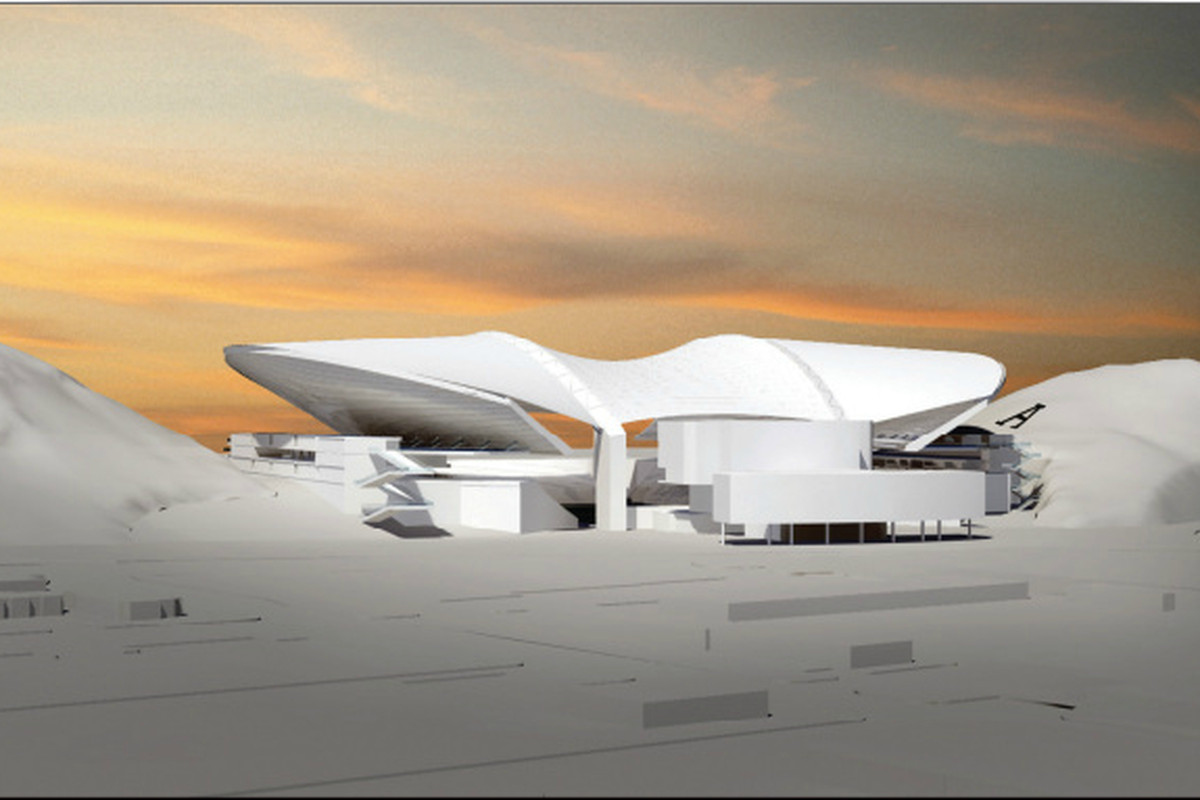 An artist rendering of the new Sun Devil Stadium. Photo courtesy of ASU.