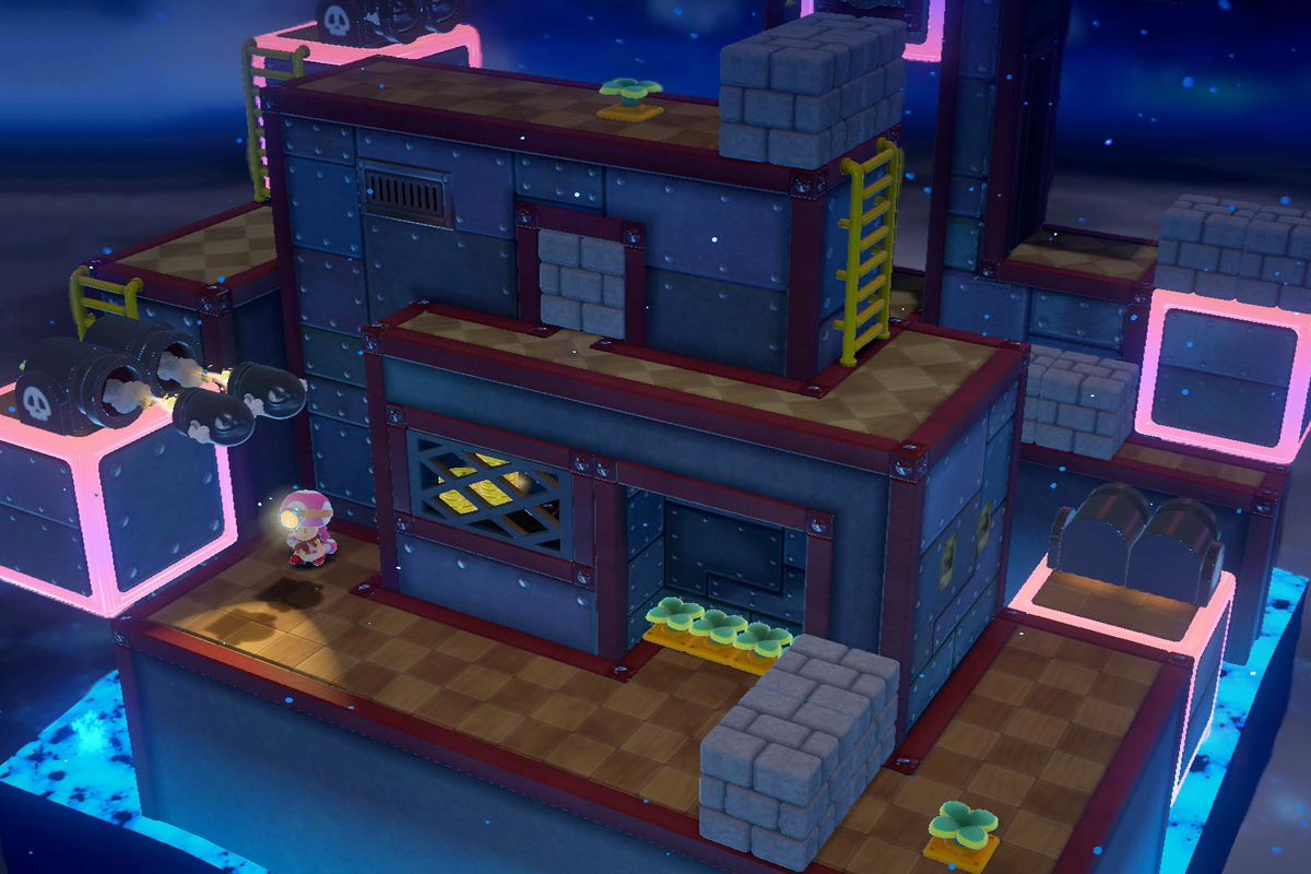 Captain Toad: Treasure Tracker 'Up 'n' Down Terrace' (Episode 2-12