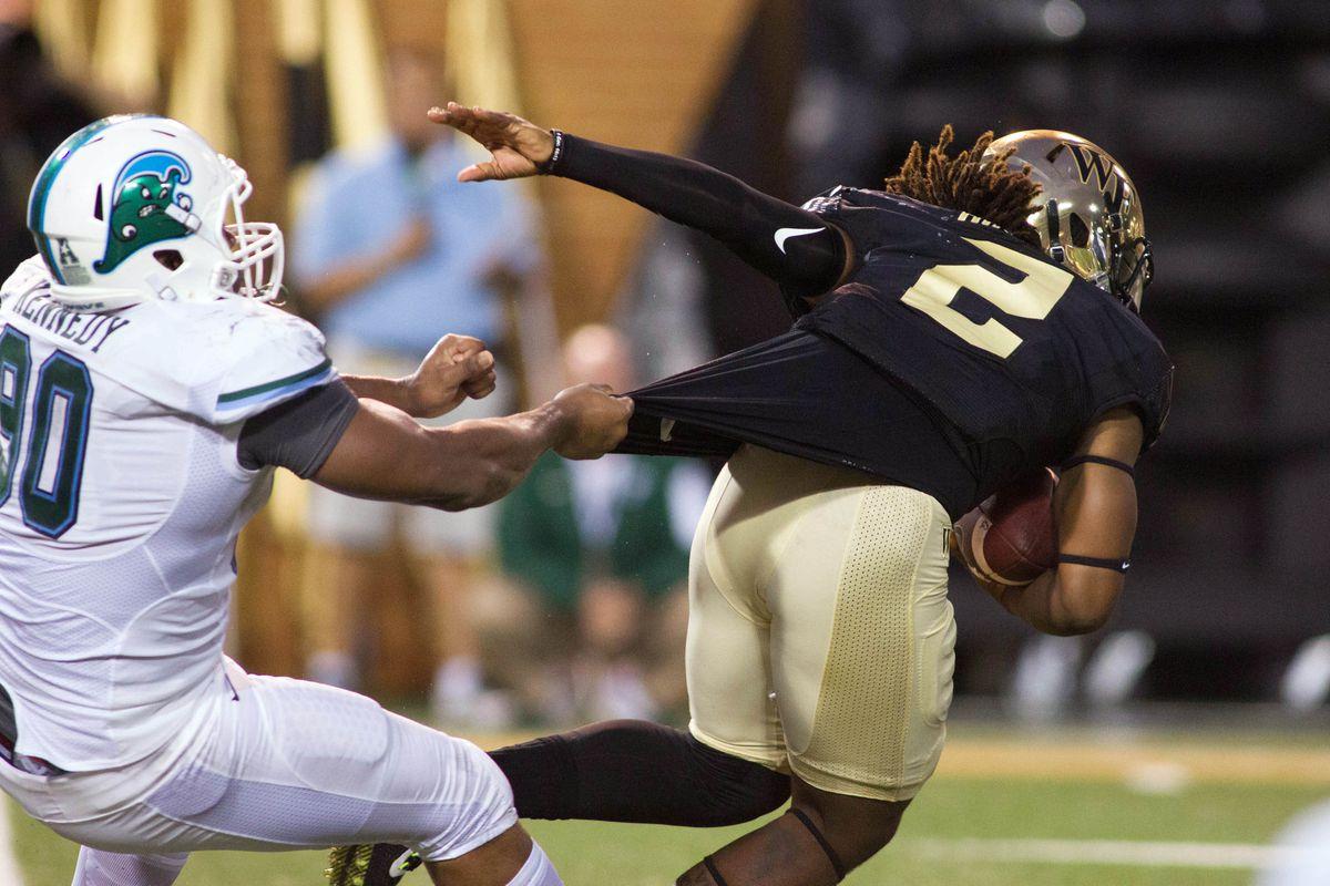 NCAA Football: Tulane at Wake Forest