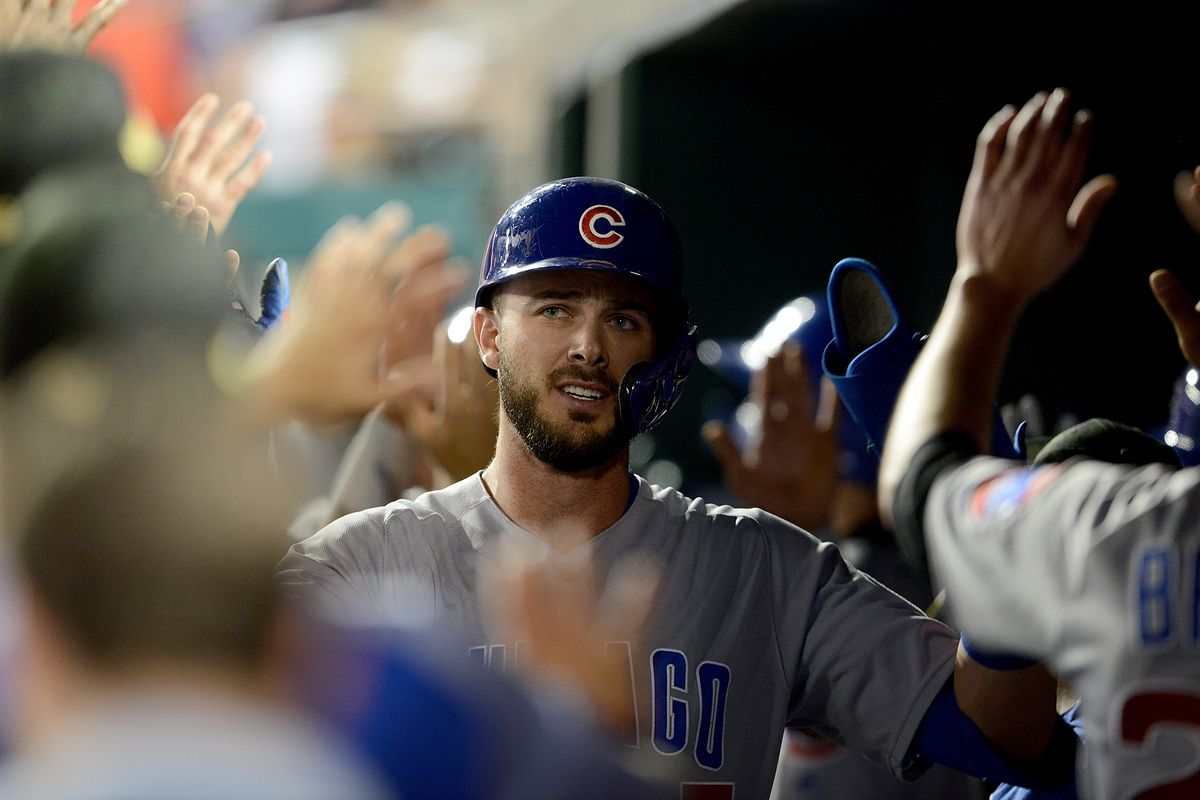 c7b3fc420 Cubs  Kris Bryant hits three home runs to win over Nationals ...