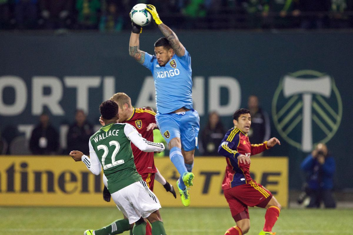 Rimando leads RSL back into Portland in a rematch of last season''s Western Conference Finals with playoff implications.