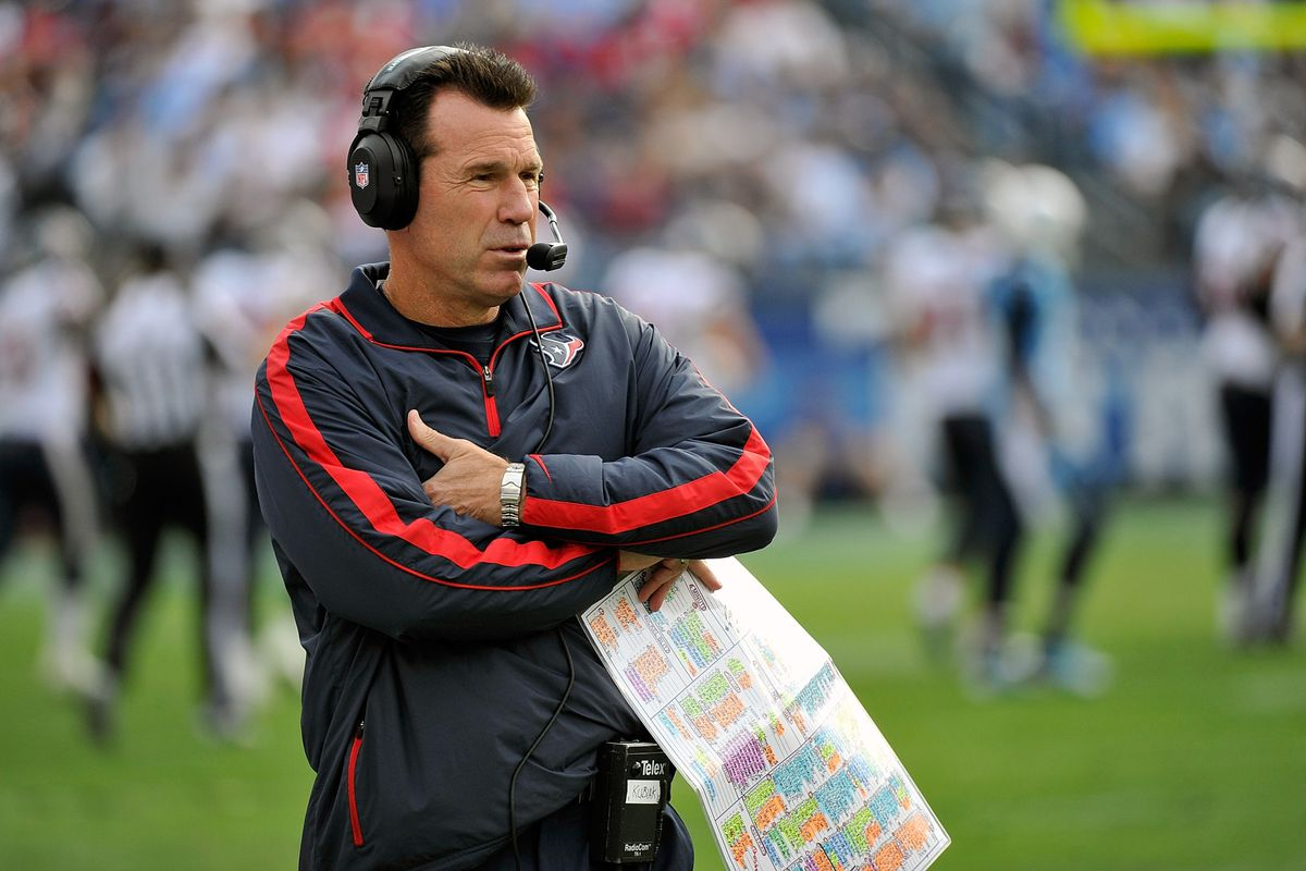 Gary Kubiak's name has popped up as a prime candidate for the open Ravens offensive coordinator job.