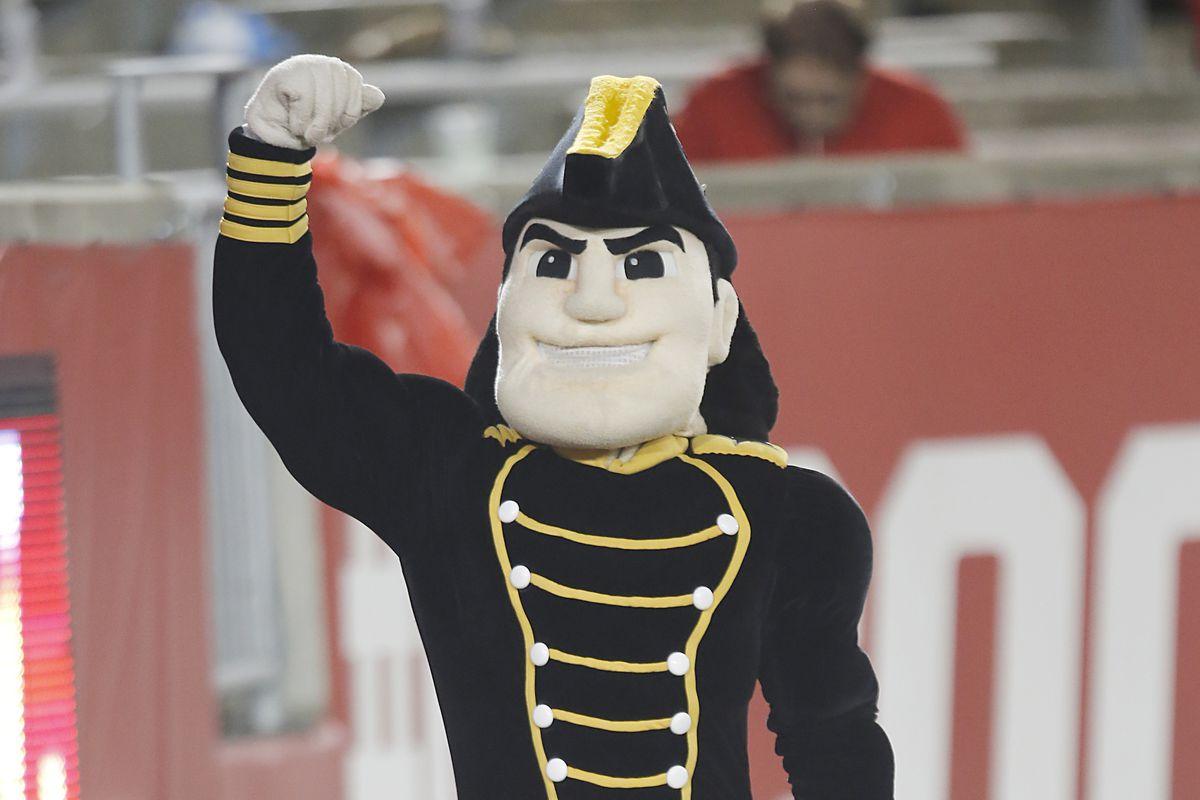 Vanderbilt's mascot is kind of weird.