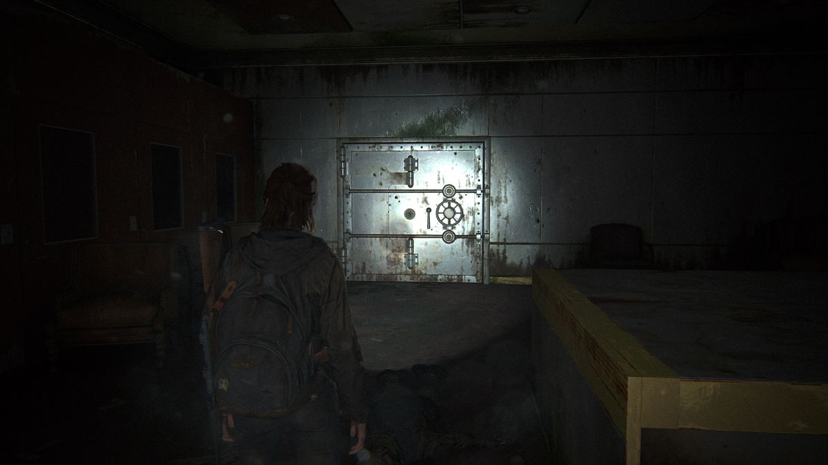 The Last of Us Part 2 Seattle Day 1 Ellie Downtown Bank Safe