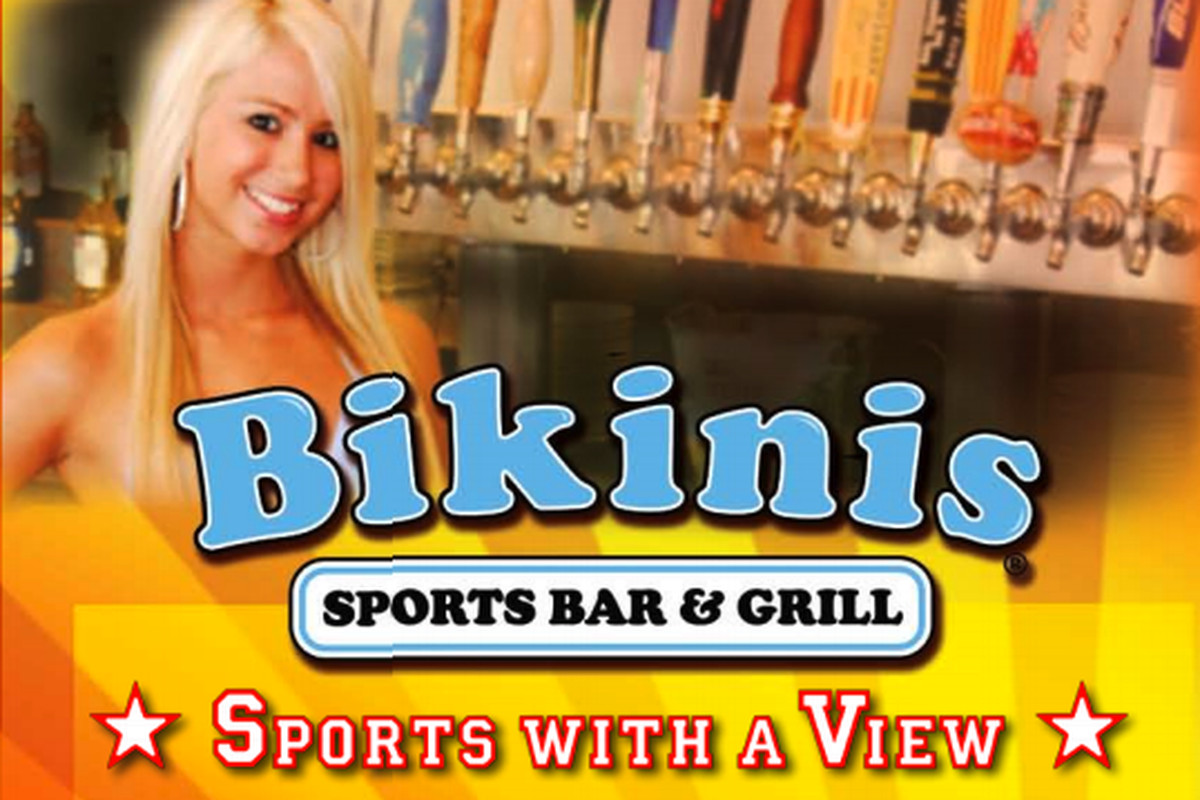 Bikinis: Reviewing the menu of every sports bar ever