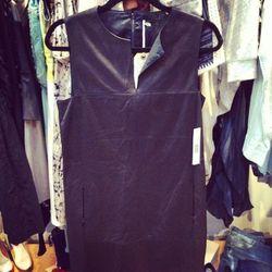Elie Tahari leather dress, $300.