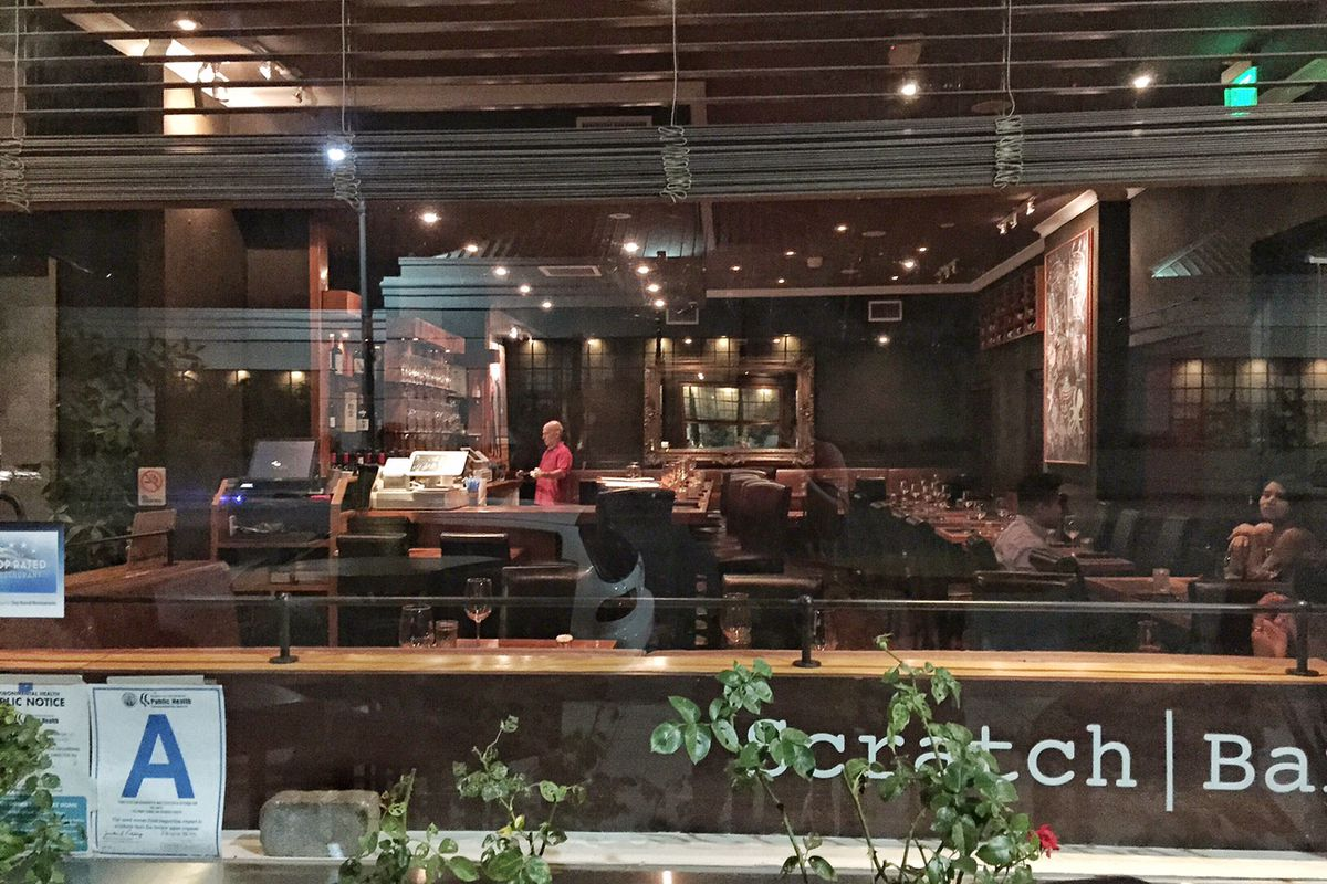 Inside the still-going Scratch Bar in Beverly Hills