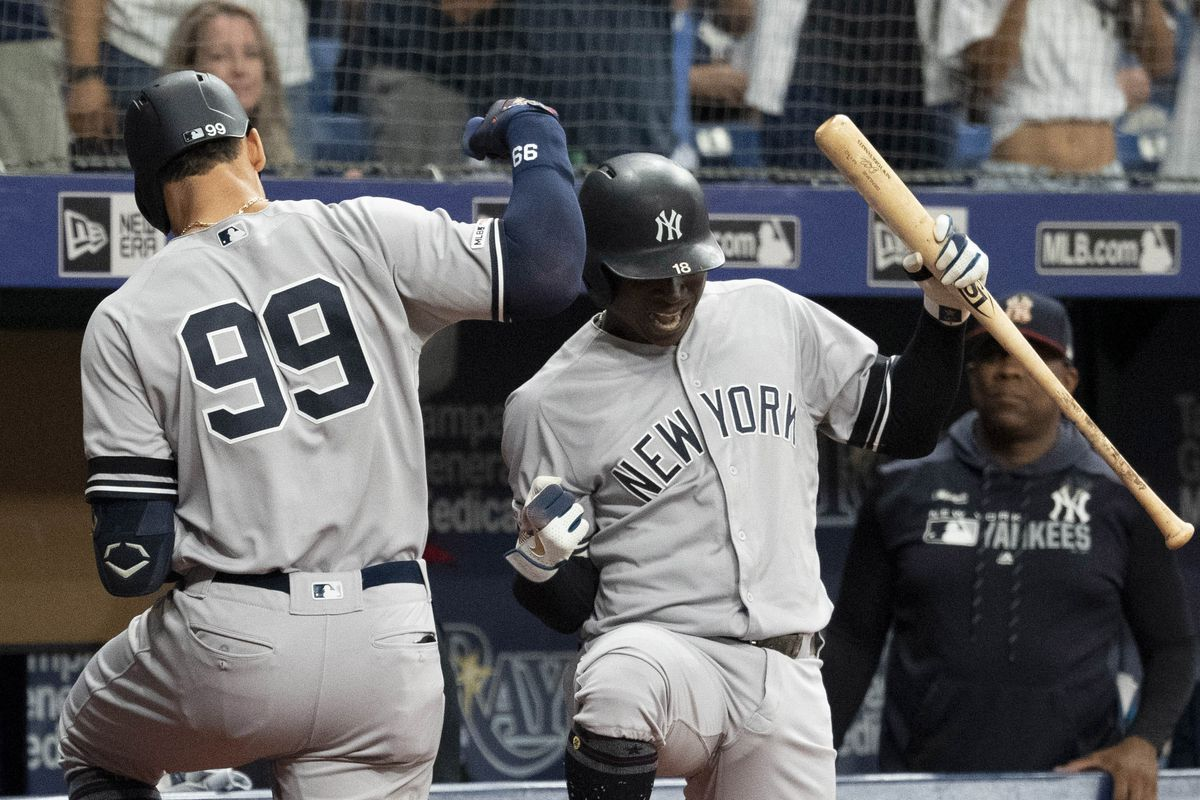 22748c70b0a8df Yankees battle through more wild late innings, defeat Rays 8-4 ...