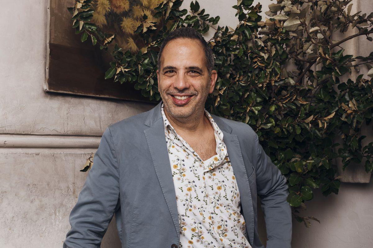Portrait shoot of Israeli-British chef, Yotam Ottolenghi