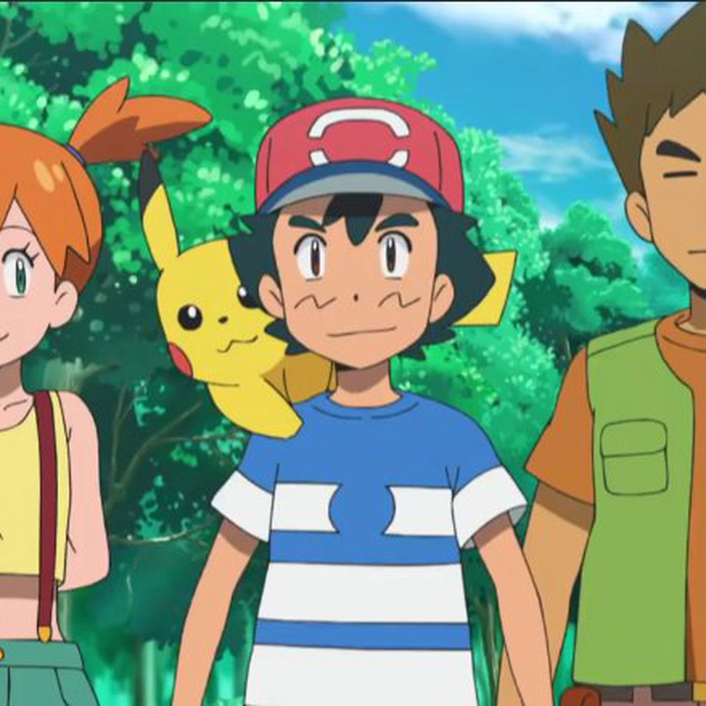 Pokémon anime's Brock and Misty reunion has a perfect, old-school