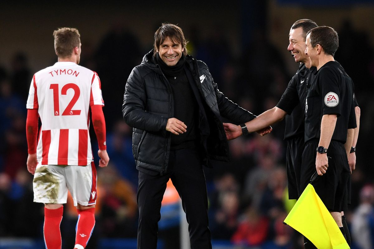 Chelsea end 2017 in second place as Manchester United slip up once again