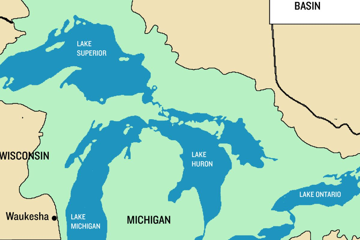 chicago great lakes map Eight Governors Have Chance To Protect Great Lakes Water Chicago Sun Times chicago great lakes map