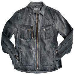 TOPMAN Mash Shacket in black ($95.00)
