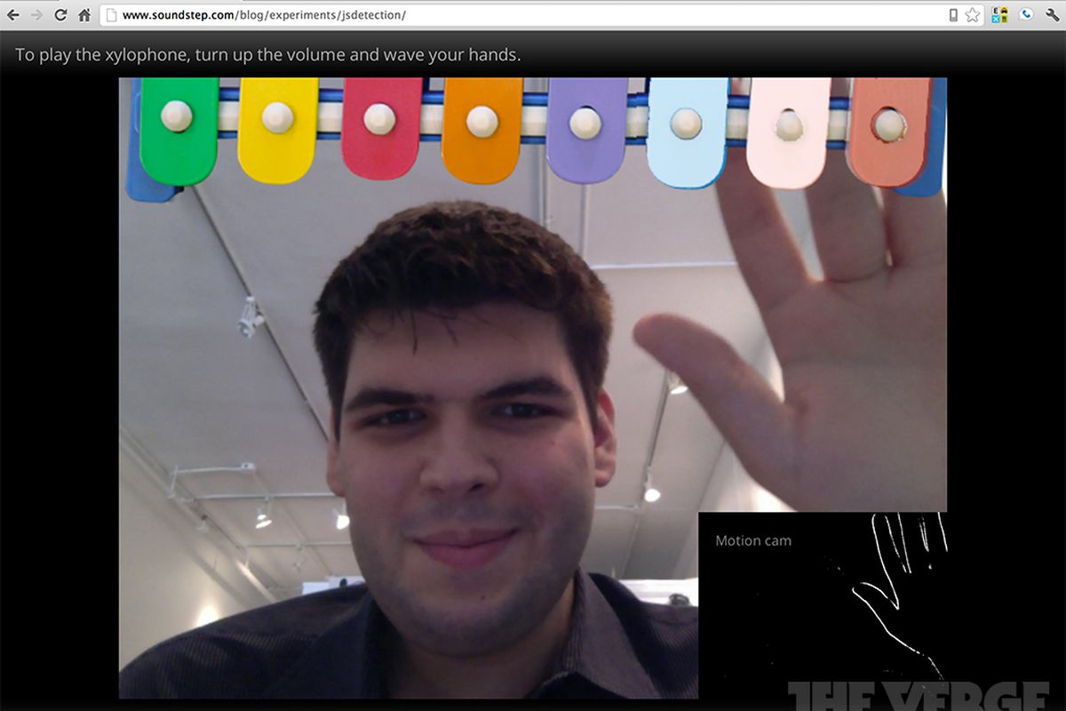 Google Chrome Beta updated with built-in webcam and microphone