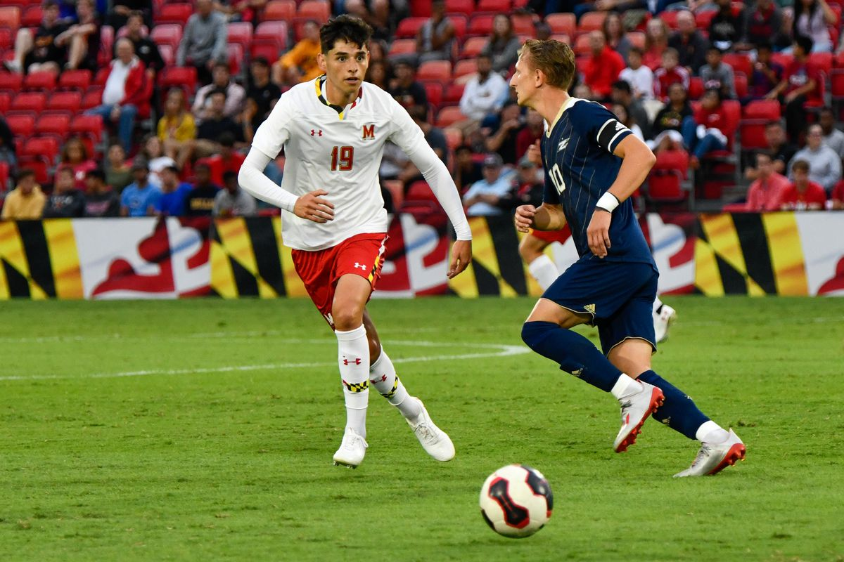 Brayan Padilla Maryland soccer