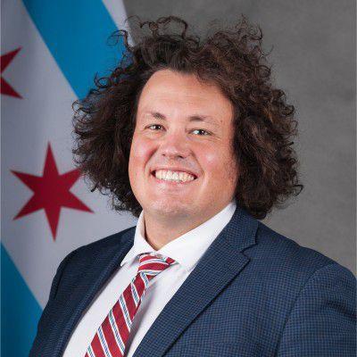 Alex Heaton, Mayor Lori Lightfoot's policy advisor for public safety.