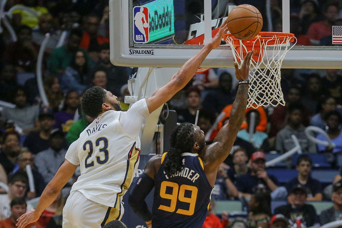 Image result for anthony davis blocks