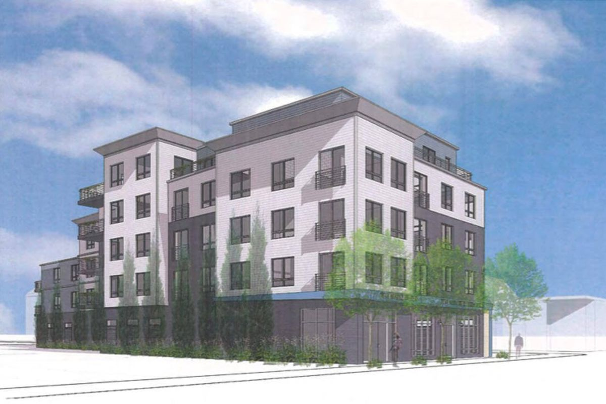 Brighton development would add 29 apartments in place of for One story apartments