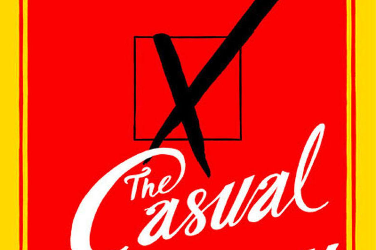 """This photo made available by Little, Brown and Co. shows the cover of """"The Casual Vacancy,"""" J.K. Rowling's first novel for adults."""