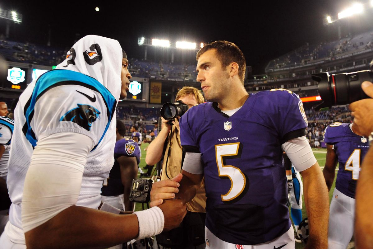 The Ravens will face the Panthers this season. It's just a matter of when at this point.