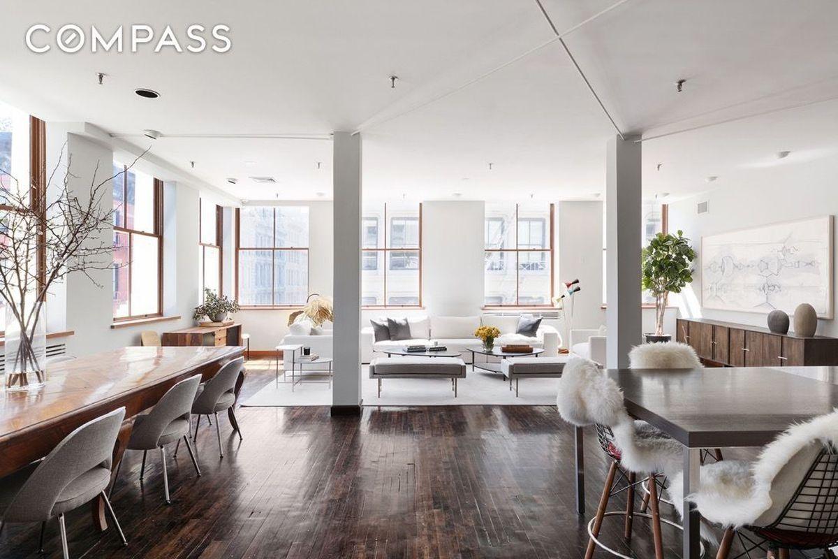 Artists\' once-wild Soho loft seeks $5.75M after a makeunder - Curbed NY
