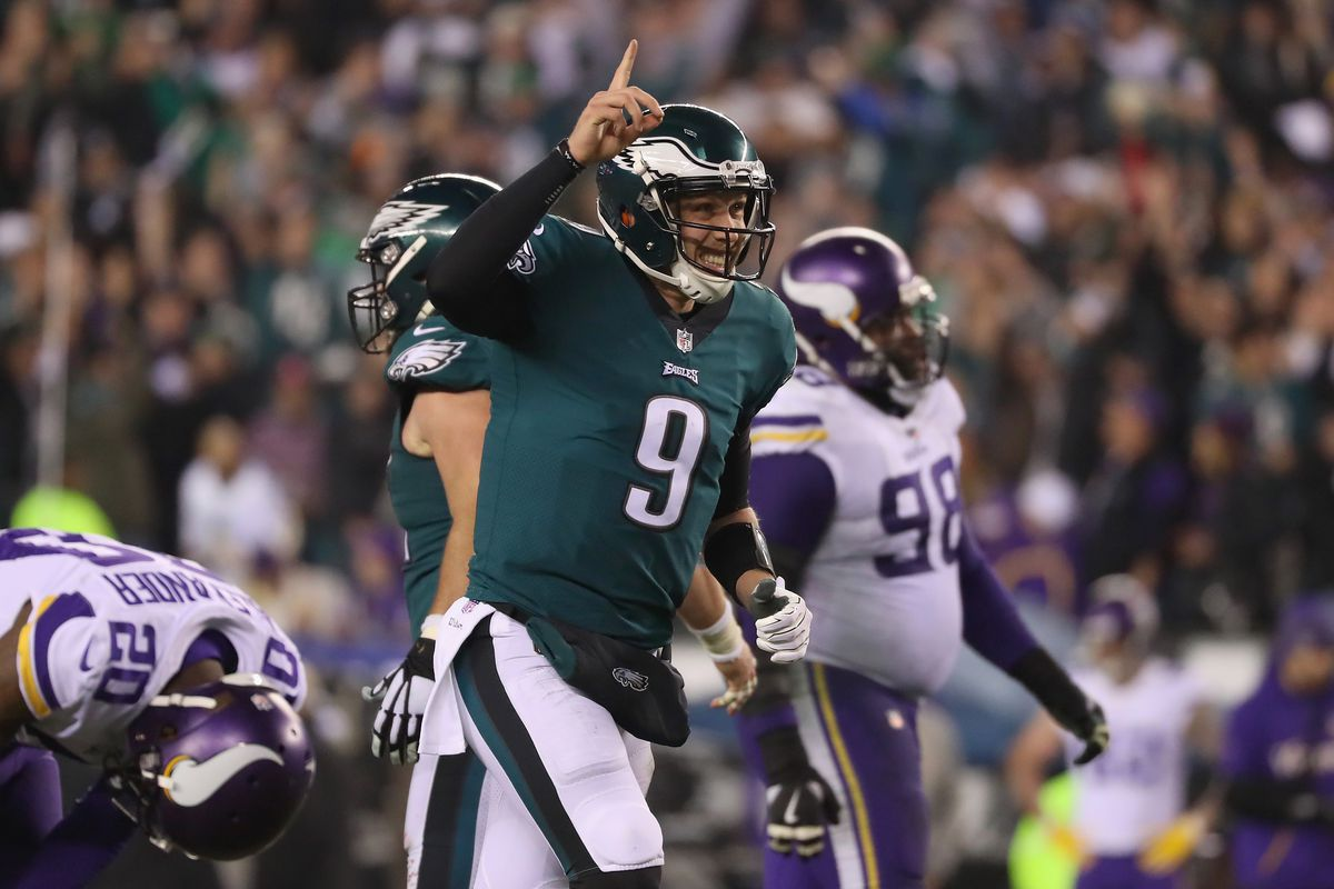 Image result for nick foles vs vikings
