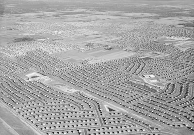 Levittown, on Long Island, 1949. The US could easily handle a larger population if it modified its land-use rules.