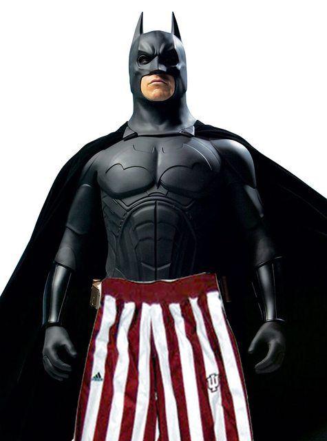 Less Massive Version of Batman