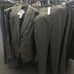 Matching vest and pants, size 2, $179 and $109