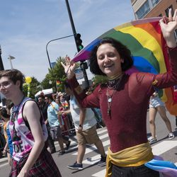 The 2018 Pride Parade.    Rick Majewski/For the Sun-Times.