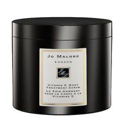 """<strong>Jo Malone</strong> Vitamin E Body Scrub Treatment, <a href=""""http://www.jomalone.com/product/3644/9976/Bath-Body/Vitamin-E-Collection/Vitamin-E-Body-Treatment-Scrub"""">$90</a>"""