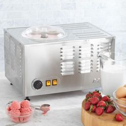 """Dream Ice Cream Machine ($1,200) <a href=""""http://www.surlatable.com/product/PRO-12422/Dream-Ice-Cream-Machine"""" rel=""""nofollow"""">Sur la Table</a>"""