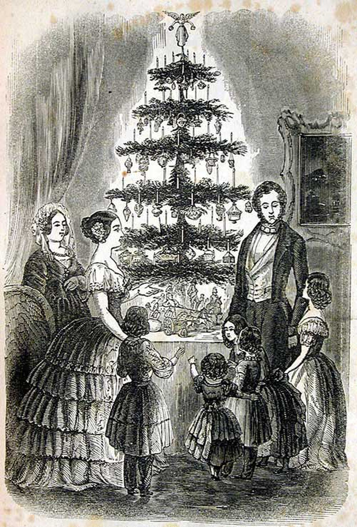 christmas tree victoria how christmas decorations evolved through the 1800s curbed 4426