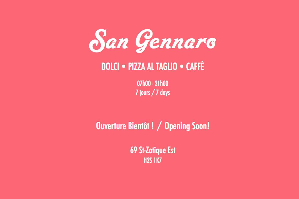 San Gennaro website