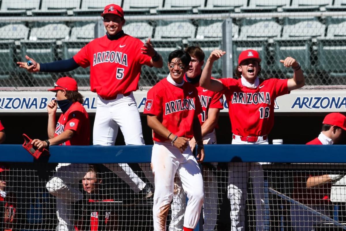 arizona-wildcats-college-baseball-jay-johnson-pac12-title-2021-coronavirus-ncaa-tournament-pitching