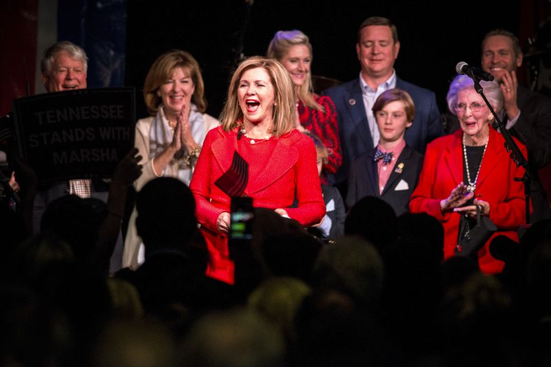Senator-elect Marsha Blackburn is the first woman Tennessee has elected to the Senate.