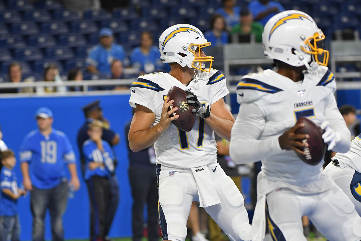 Enjoyable Philip Rivers Could Get Benched For Tyrod Taylor With Creativecarmelina Interior Chair Design Creativecarmelinacom