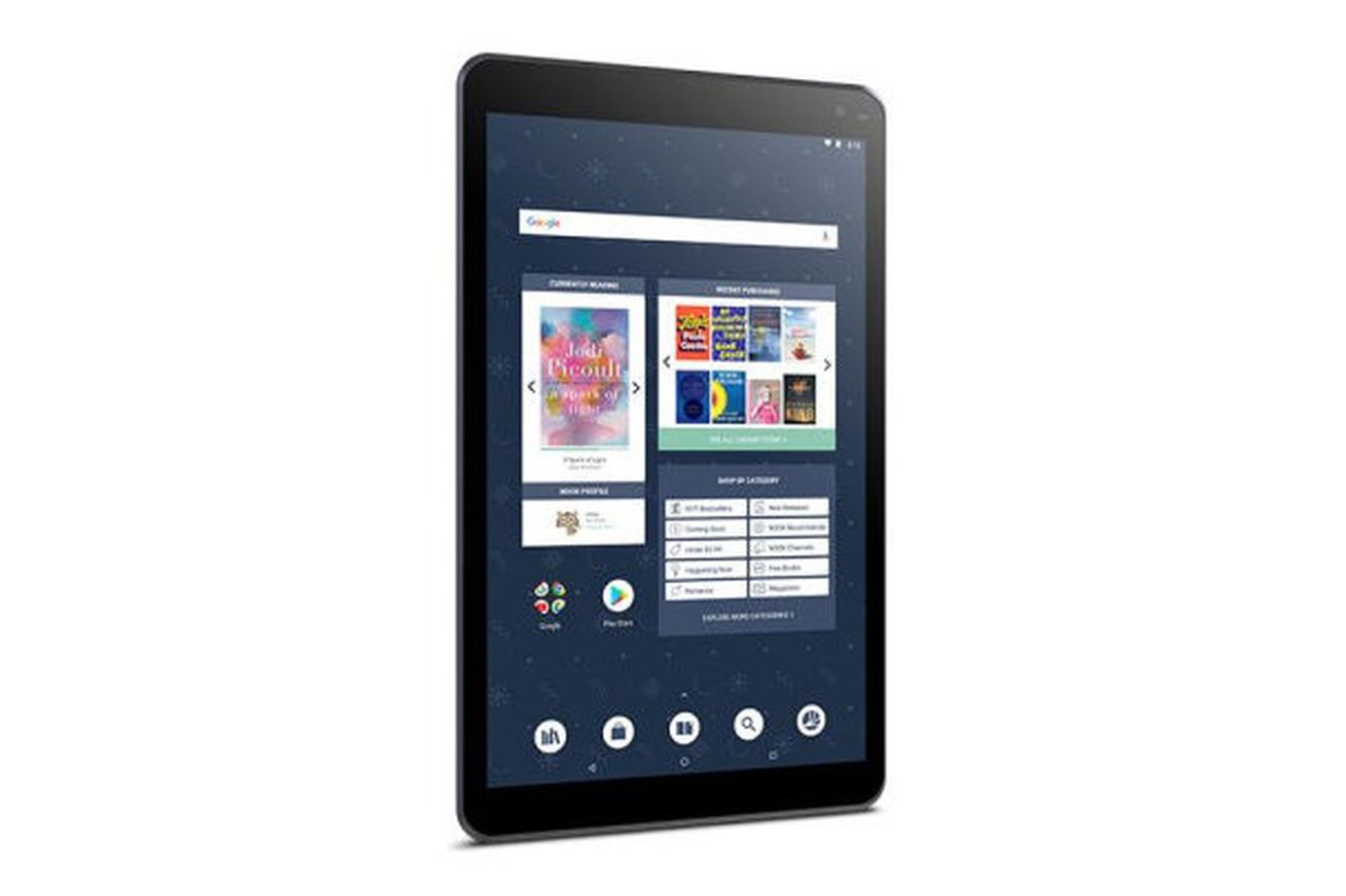 barnes noble releases a new nook tablet with its largest display ever