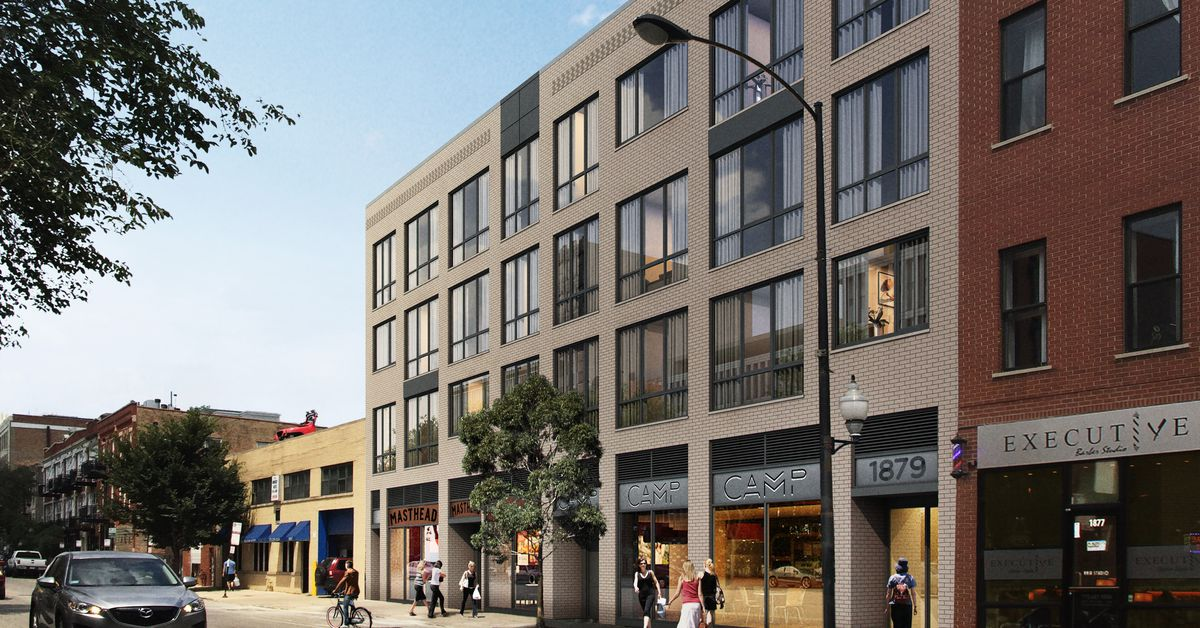 More Apartments Headed To Milwaukee Avenue In Chicago S Bucktown Curbed Chicago