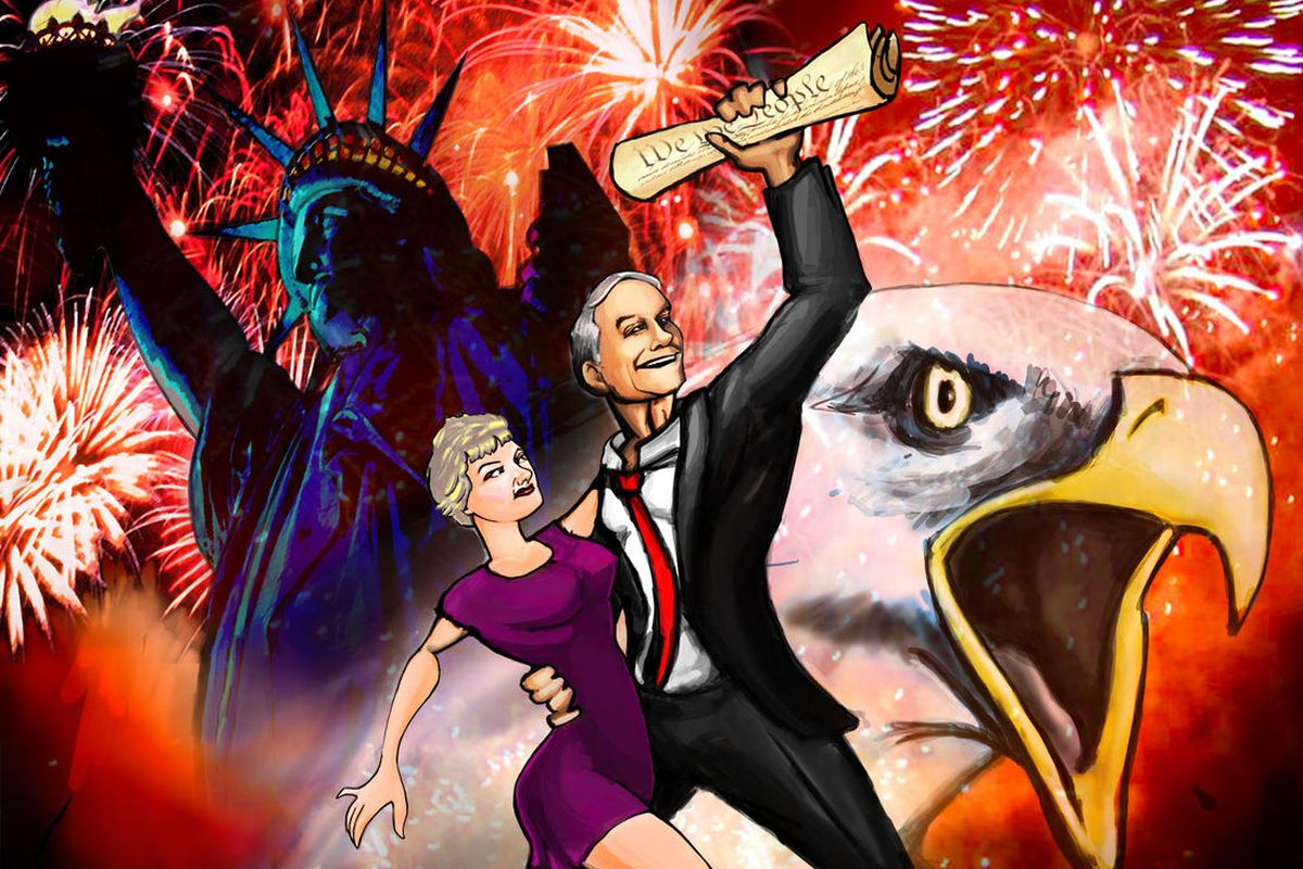Ron Paul Video Game poster