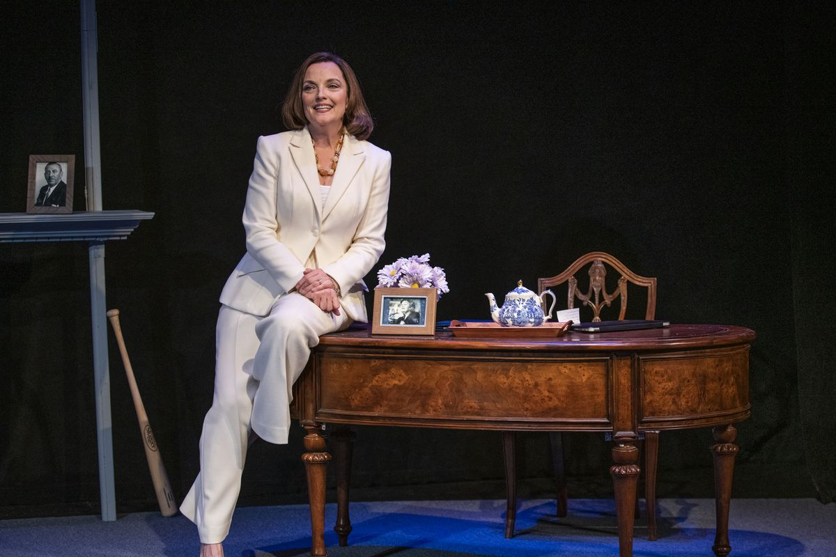 """Orlagh Cassidy stars as Nancy Pelosi in """"The Adult in the Room."""""""