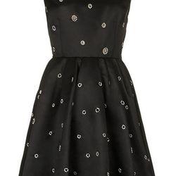 DIAMANTE EMBELLISHED PROM DRESS, $260
