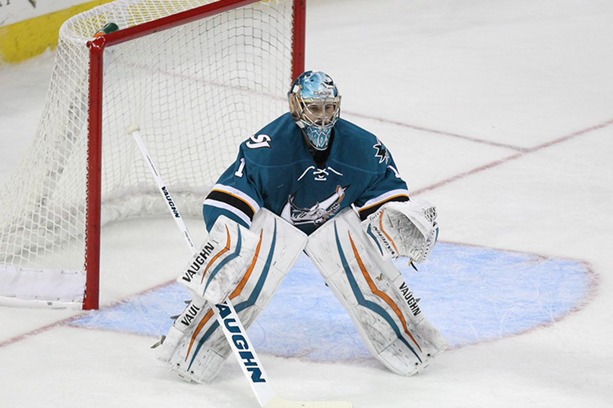 San Jose Barracuda goaltender Troy Grosenick made a career high and franchise record 49-saves in Saturday night's 4-3 shootout loss to Stockton Heat at Stockton Arena. (SJBarracuda.com)