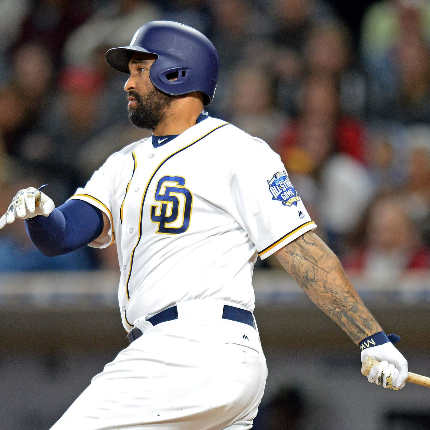 half off c6ef6 37238 Braves acquire Matt Kemp from Padres in bad contract swap ...